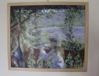 Reprodukce Auguste Renoir U vody