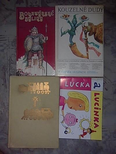 Pohádkové knihy + ještě tři, které nemám na fotu