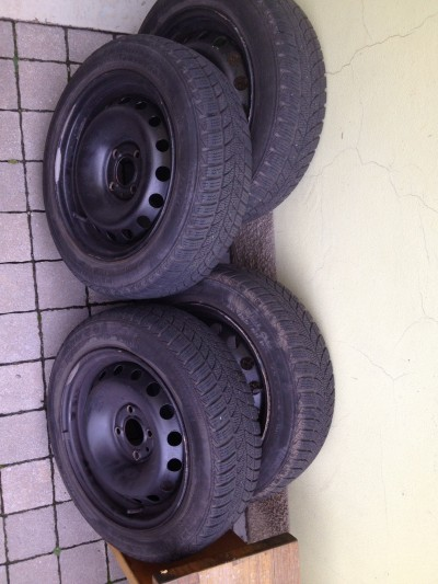 Zimni pneu na dojetí + disky