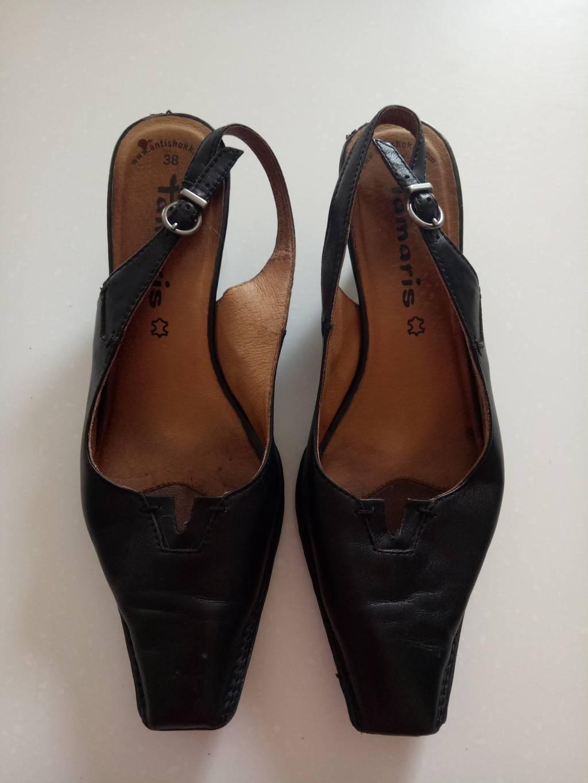 9fc0c221643 Daruji za odvoz kožené dámské boty na podpatku