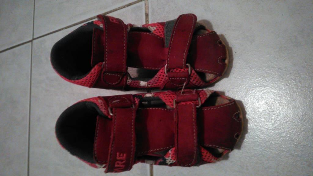 Daruji za odvoz divci sandalky vel. 24  6b37e651b5