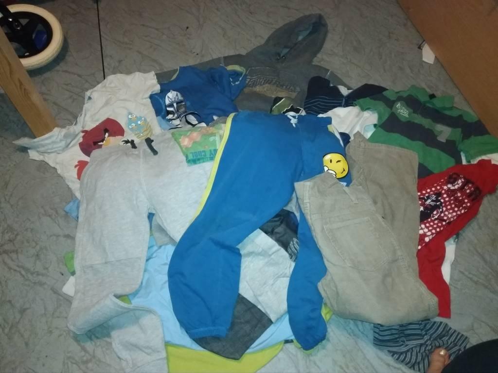 Daruji za odvoz oblečení kluk 134)140 146  a483cd9c30