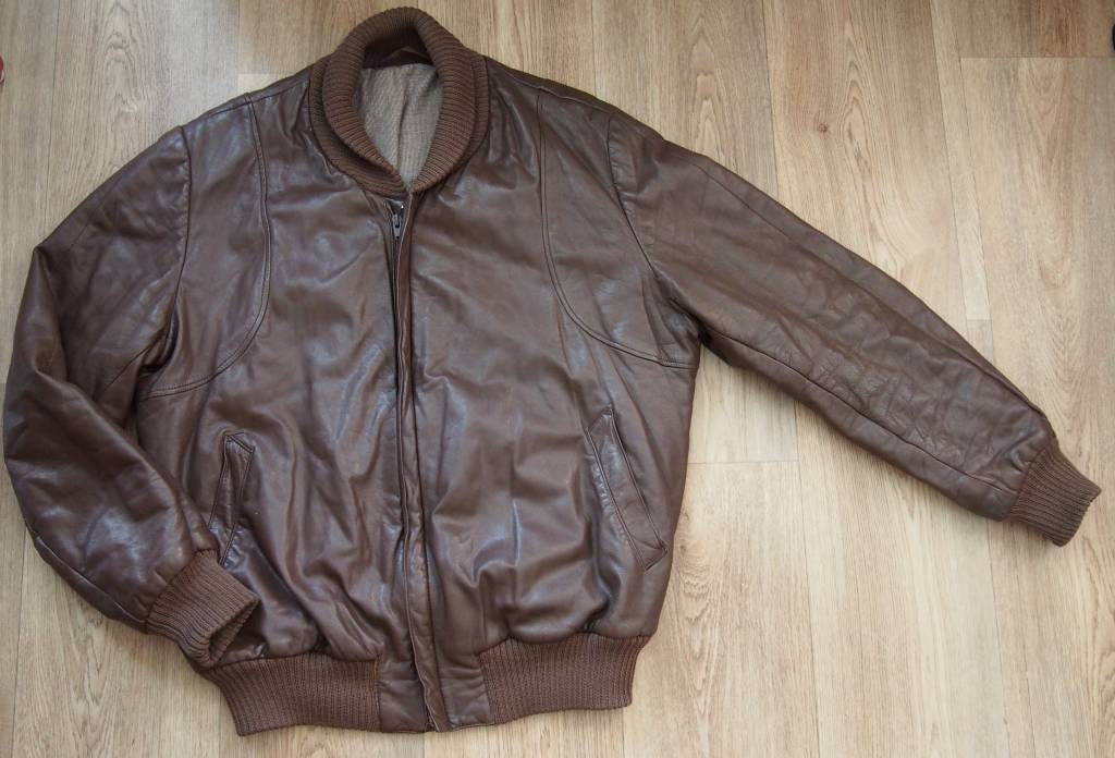 ea9c9441b Daruji za odvoz pánská retro kožená bunda vel.m | VšezaOdvoz