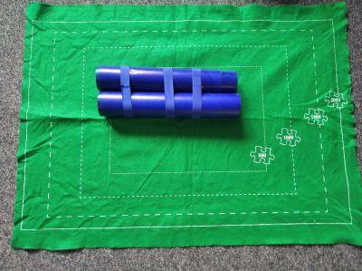 Svinovací podložka pod puzzle