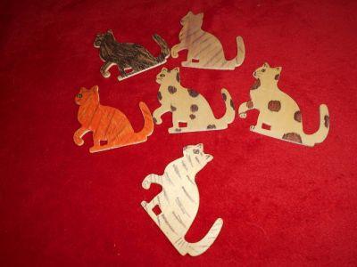Kočky - 6 kusů *