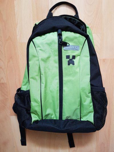 zelený batůžek