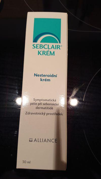 Krém pro léčbu seboreické dermatitidy