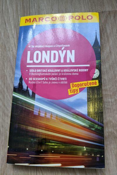 Daruji průvodce Londýn