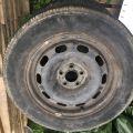Škoda Octavia ver. 1 - Plechové disky s gumami