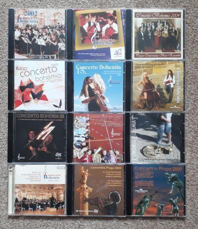 12 CD Concerto Bohemia