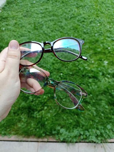Plastové brýle - bez dioptrií