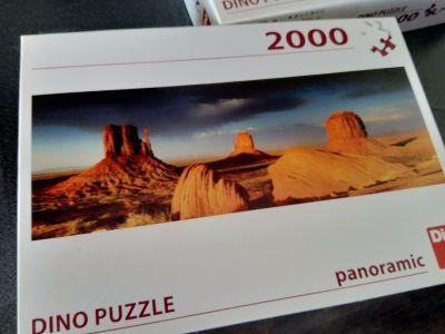 2x Puzzle 2000 dílů