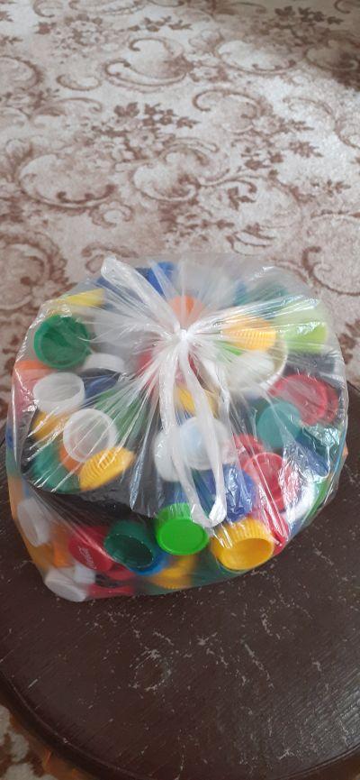 Plastová víčka