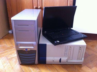 Staré, nefunkční nebo rozbité počítače
