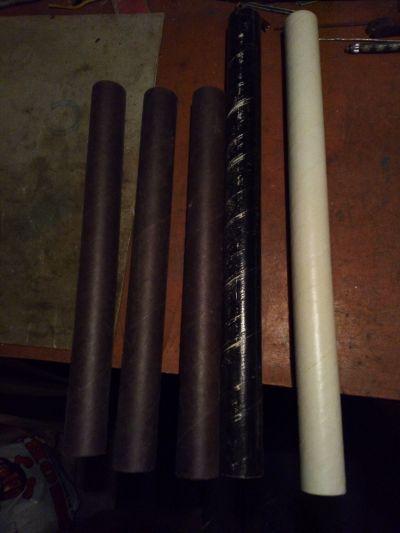 Papírové trubičky