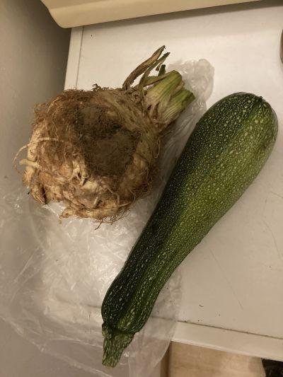 Celer, okurka, čerstvé