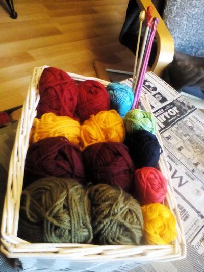 Příze na pletení