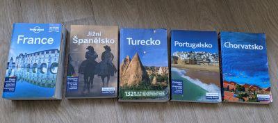Daruji cestovní průvodce Lonely Planet