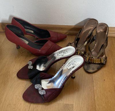 Boty na podpatku č. 36