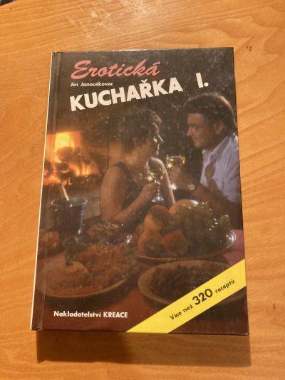 Kniha Erotická kuchařka