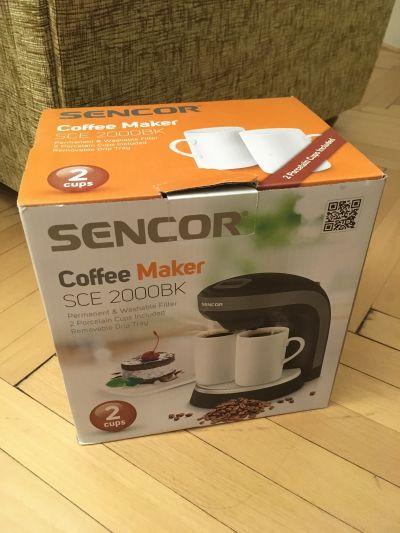 kávovar Sencor