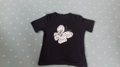 Tričko - motýl.