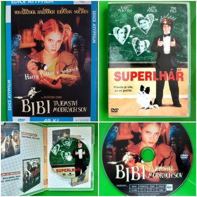 DVD BIBI TAJEMSTVÍ MODRÝCH SOV + SUPERLÁŘ