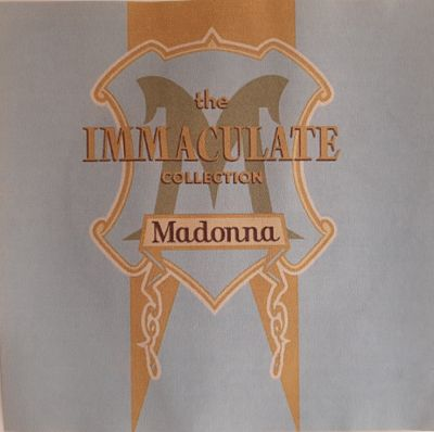 CD MADONNA – THE IMMACULATE COLECTION