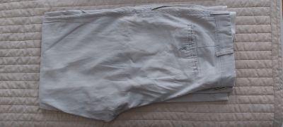 Kalhoty sede svetle