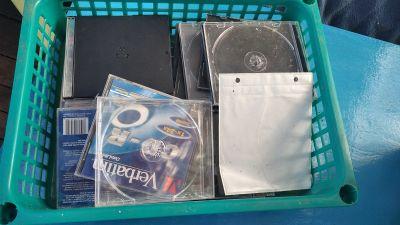 Daruji za odvoz obaly CD