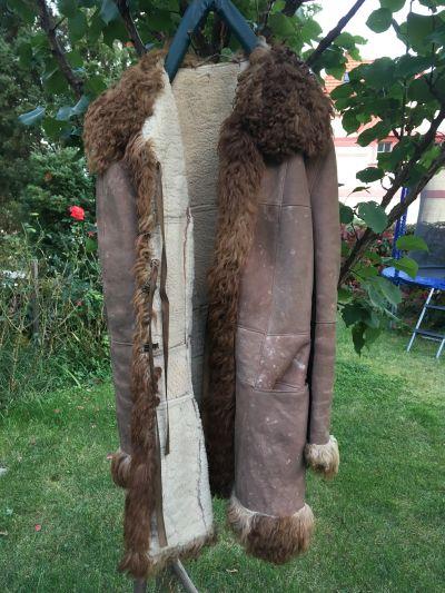 Daruji dámský kožený kabát