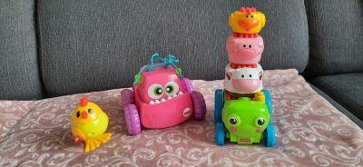 Hračky jezdící