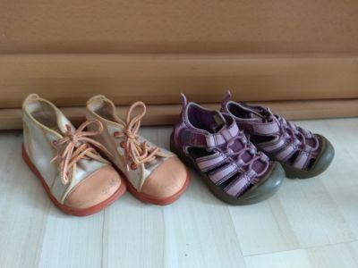 Dětské boty pro holčičku vel.21