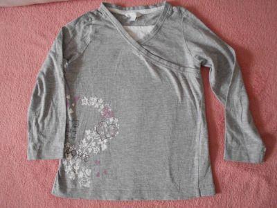 Šedé tričko  -