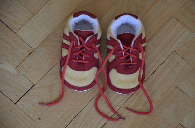 První botičky pro miminko