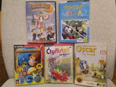 5 starších dětských počítačových her