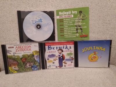 5 CD starších počítačových her