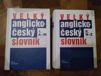 Velký dvojdílný anglicko-český slovník
