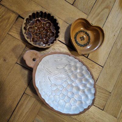 Keramické formy na pečení