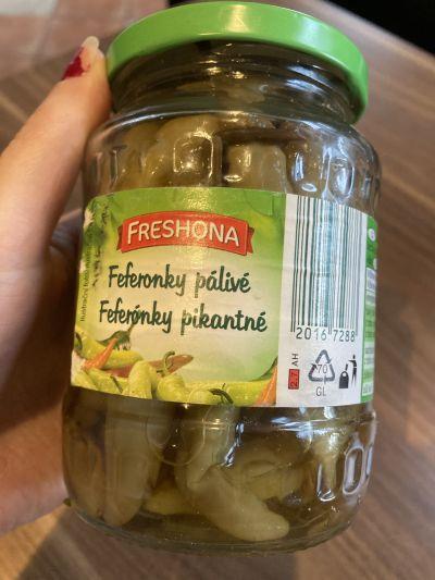 Feferonky (expirace 12/2018)