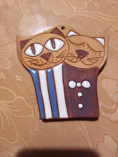 keramické kočičky