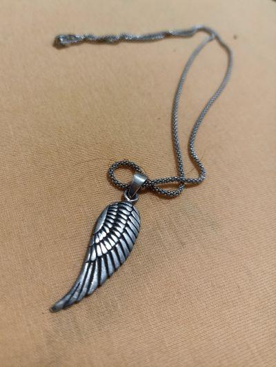 Řetízek s přívěskem křídlo