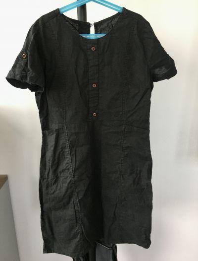 Daruji lněné šaty