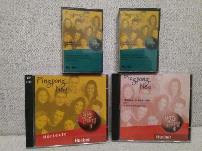 CD a kazety němčina