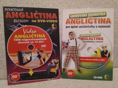DVD angličtina