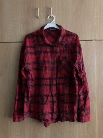 Červená košile M
