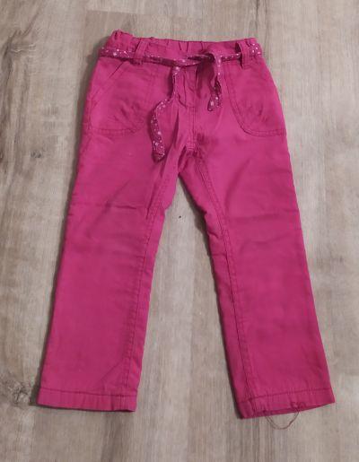 Zateplené kalhoty 98