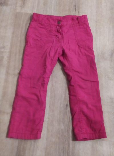 Teplé kalhoty 98