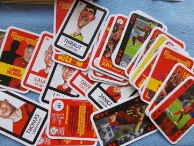 fotbalové kartičky pro vnuka..