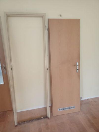 Dveře 60 P se zárubní